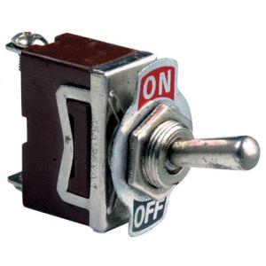 Switch de palanca 1 polo, 1 tiro, 2 posiciones, 15 Amperes