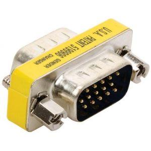 Unión plug a plug VGA (DB15H)