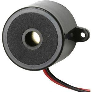 Buzzer de 3,3 kHz, de 8 a 15 Vcc, con señal de tono constante de 85 dB