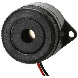 Buzzer de 3,7 kHz, de 3 a 24 Vcc, con señal de tono constante de 95 dB