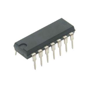 Circuito integrado TTL 4 compuertas OR exclusivas de 2 entradas cada una