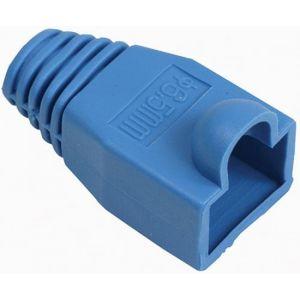 Cubierta protectora para plug RJ45, azul