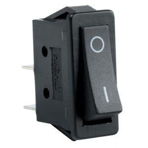 Switch de balancín, de 1 polo, 1 tiro, 2 posiciones