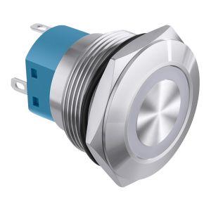 Switch de retención con Toma corriente NC/NA e iluminación verde