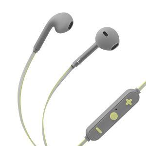 Audífonos Bluetooth* con cable reflejante y auriculares rubber