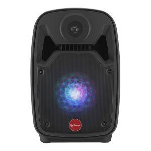 """Bocina Amplificada de 8"""" 550 WPMPO Bluetooth con batería recargable"""