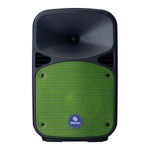"""Bocina Amplificada de 8"""" 1,100 W PMPO Bluetooth con batería recargable"""