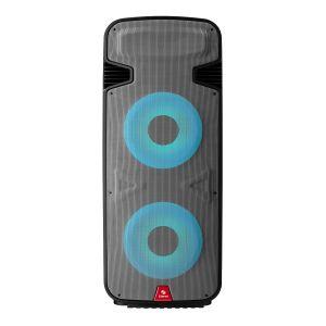 """Bocina Amplificada doble de 15"""" 6,000 W PMPO profesional Bluetooth con luz LED"""