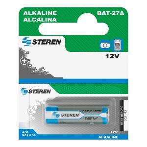 "Bateria alcalina tipo cilindro ""27A"""