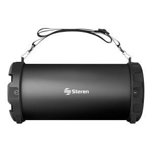 Bocina Bluetooth* mini Bazooka con reproductor USB/SD