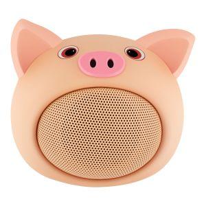 Mini bocina Bluetooth* con forma de puerco