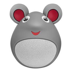 Mini bocina Bluetooth* con forma de ratón