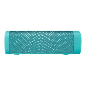 Bocina Bluetooth* mini SoundBar con acabado textil verde