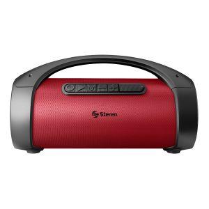 Bocina Bluetooth* BoomBox TWS, 350 W PMPO, roja