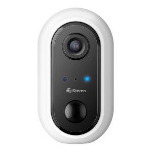 Cámara de seguridad Wi-Fi* Full HD fija con batería recargable