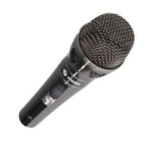 Micrófono amateur metálico