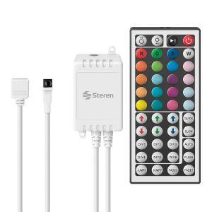 Control remoto para tiras LED multicolor RGB