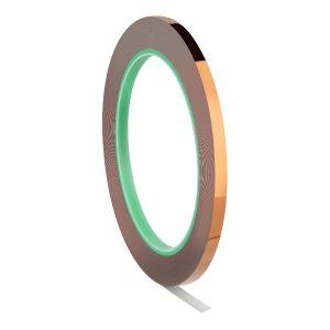 Cinta adhesiva de cobre, 5 mm