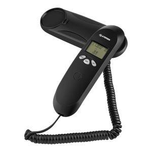 Teléfono de góndola, negro
