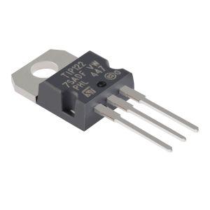 Transistor de potencia Darlington NPN TO-220 propósito general, salida de audio y switcheo rápido
