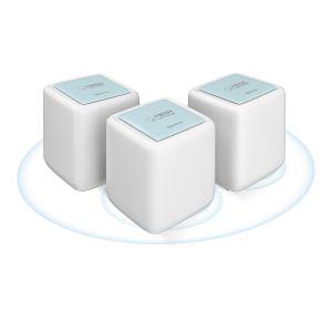 Sistema Smart Wi-Fi* MESH doble banda 2,4 y 5 GHz, MU-MIMO