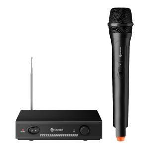 Micrófono inalámbrico de mano, VHF